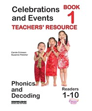 Celebrations and Events Books 1–10 Teachers' Resour...