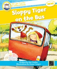 Sloppy Tiger on the Bus